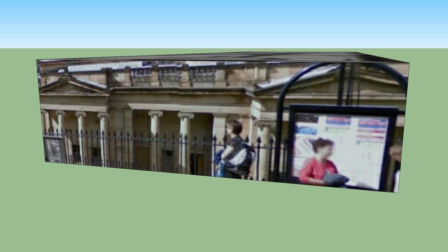 爱丁堡 EH2 2EJ, (大不列颠)联合王国的建筑模型