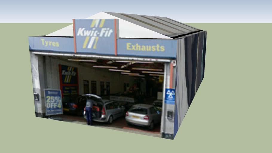 Kwik-Fit, Bethnal Green, Greater London, UK