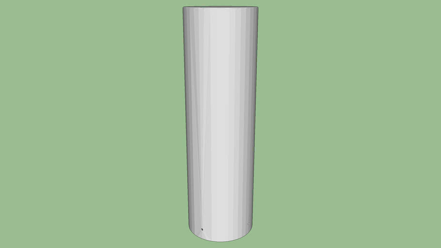 R-7315 stainless steel bollard cover
