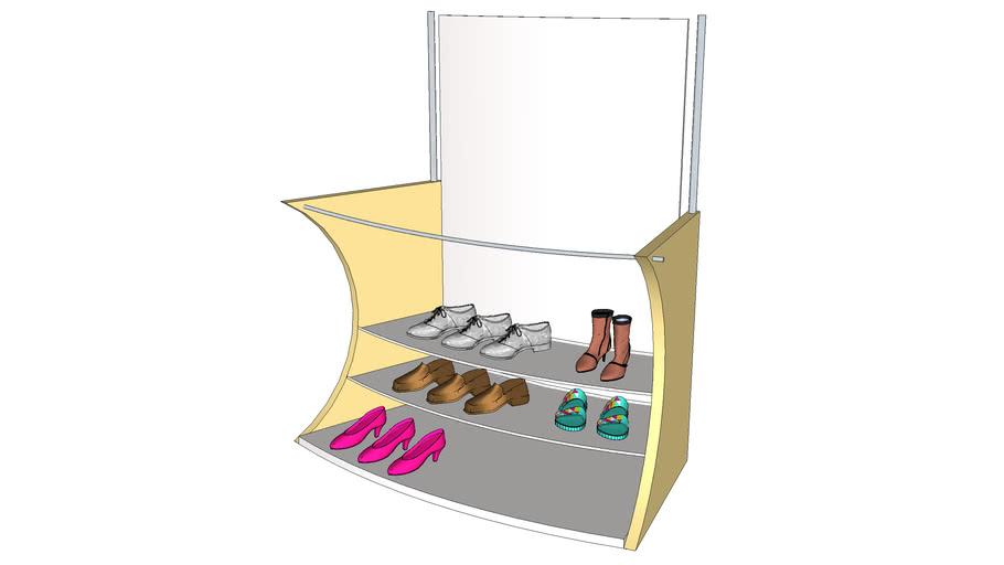 Regal für Shop-Einrichtung
