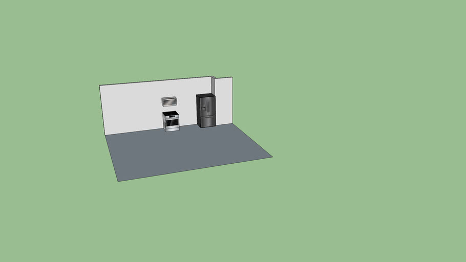 Kitchen Template - For Distance Learning Assignment