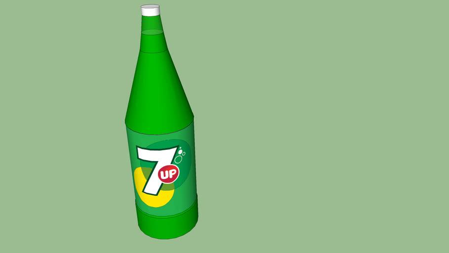 7up Glass bottle