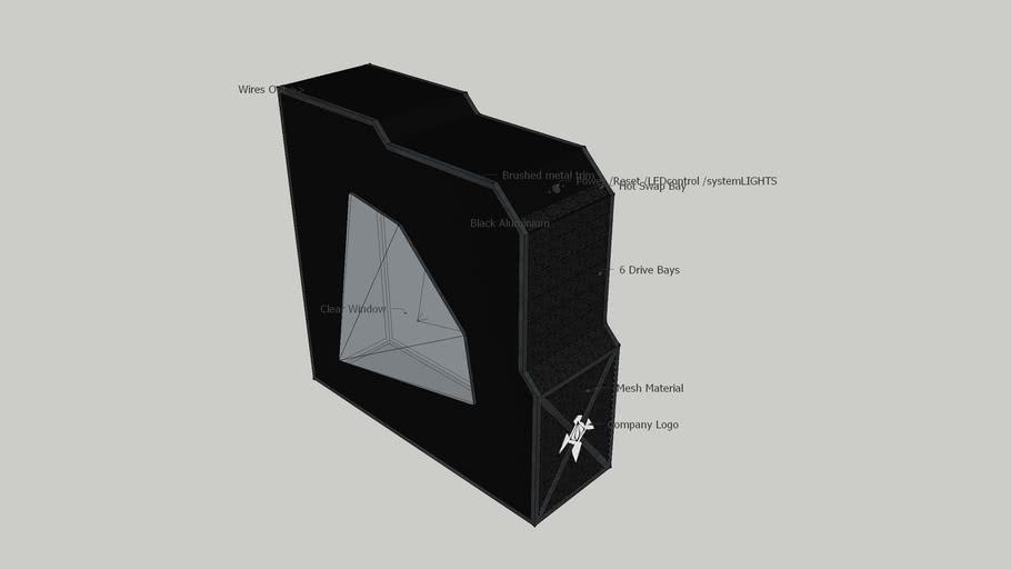 Custom Designed PC Case