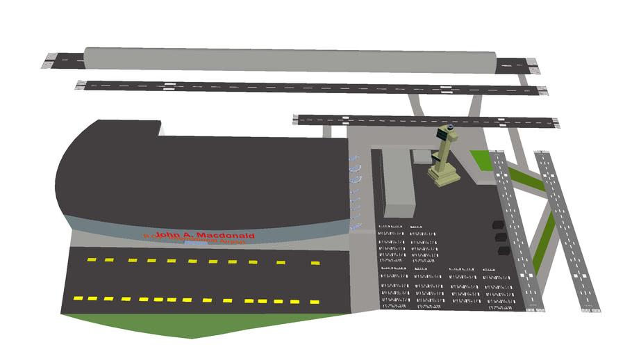 Sir John A. Macdonald R.C.P. International Airport (JAM/CYYA)