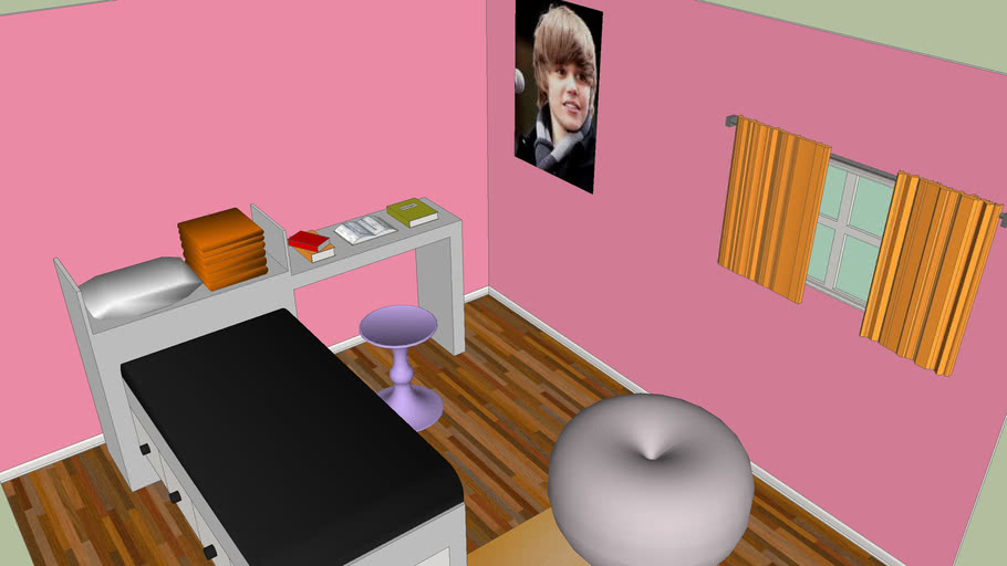 Girly Bedroom 3d Warehouse