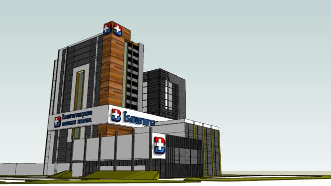 Faulkner Hospital   3D Warehouse