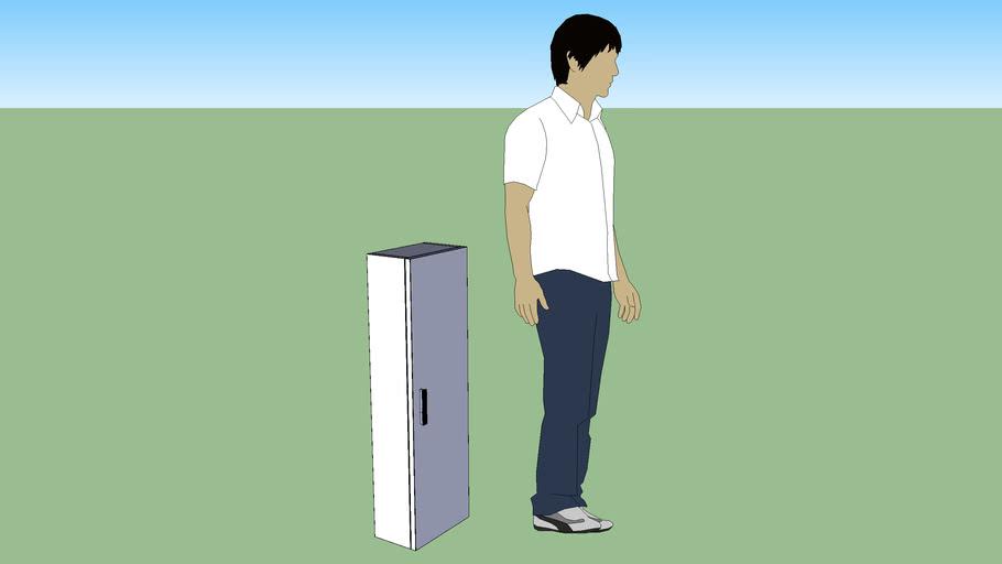 Diverta auxiliary column 1000x309x183