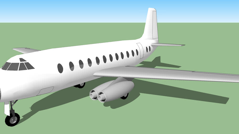 Template - Northwest NW-57A-2 Jetliner