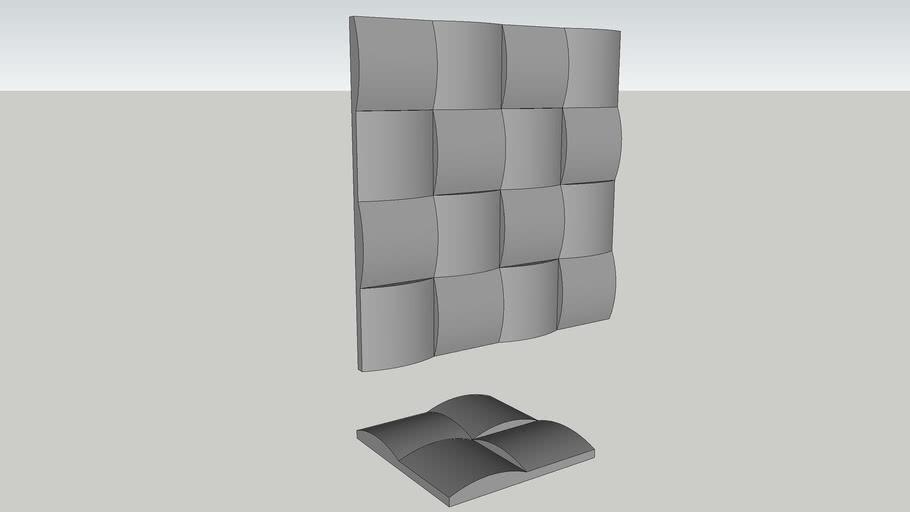 Jacarta - Revestimento 3D - 29,5 x 29,5