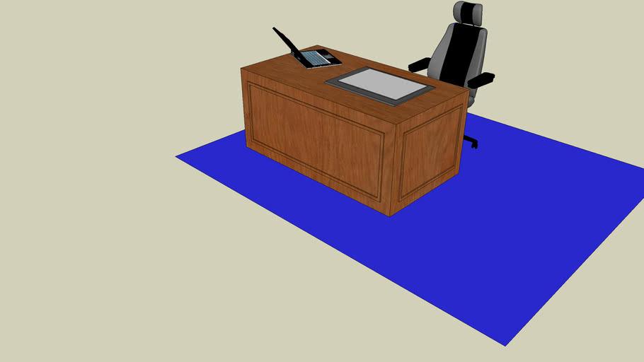 Mesa diretor - móveis de escritório
