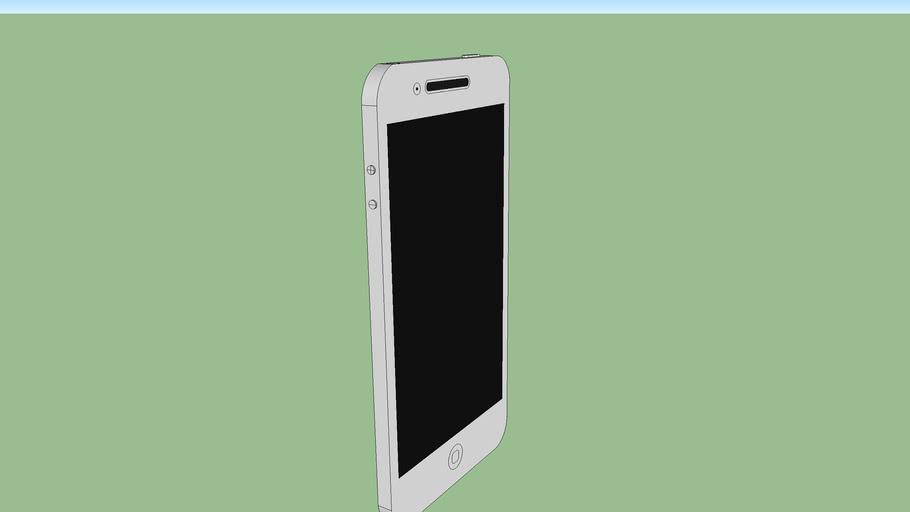 white apple iPhone 4S
