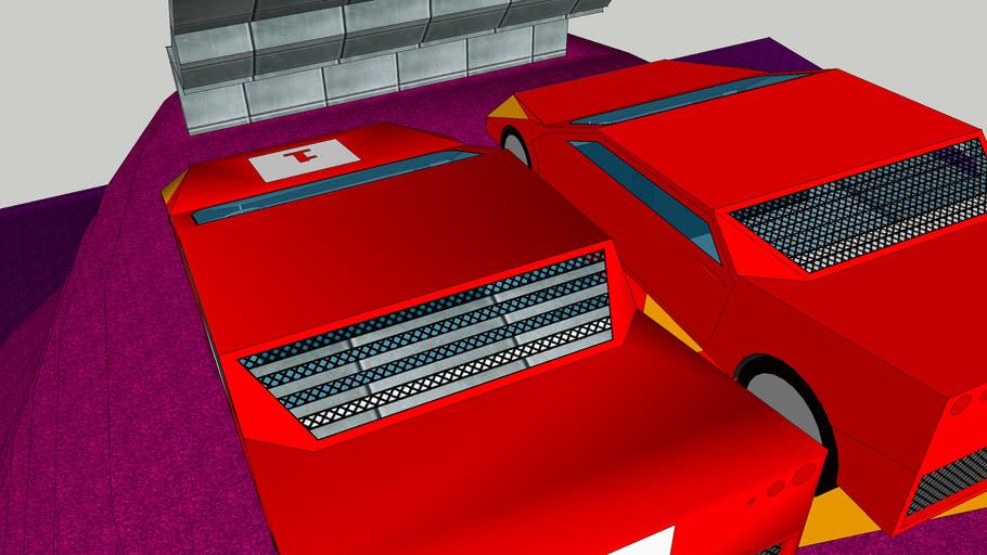 Super Racing  car by  Chavan