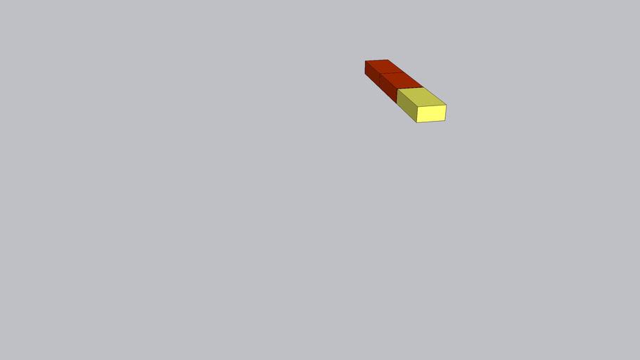 кладка из 3  кирпичей красных