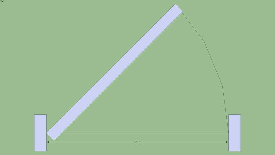 Door_2-6x6-8_Left_ 2D-Cut