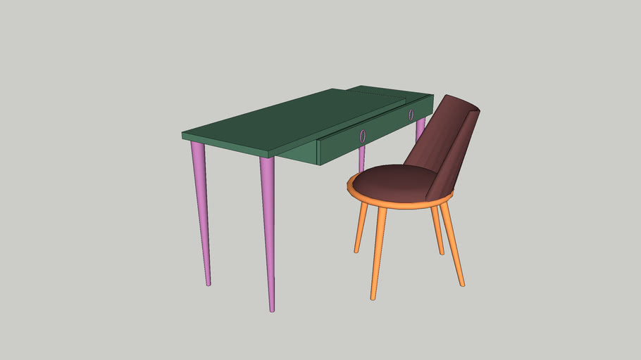 desk and chair CANTORI
