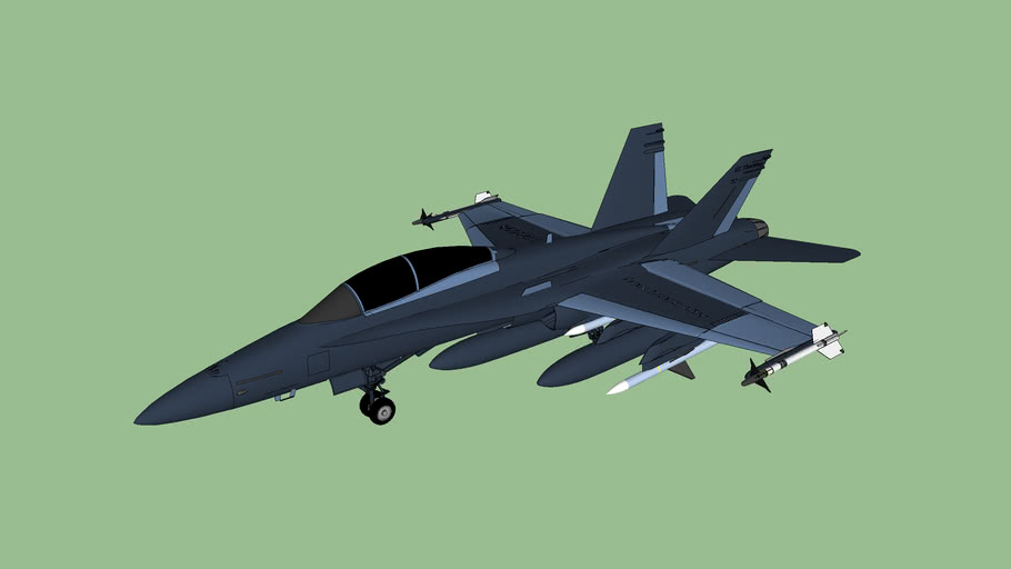 Lego Island Navy McDonnell Douglas F/A 18 Hornet