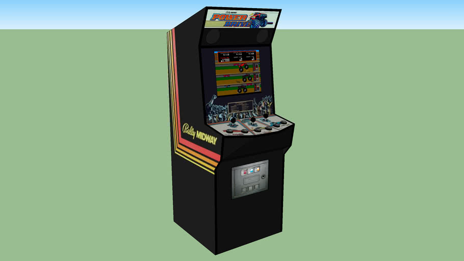 Power Drive Arcade Game