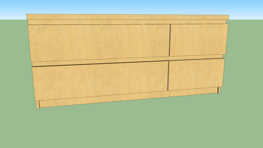 Ikea Malm 4 Drawer Dresser Warehouse