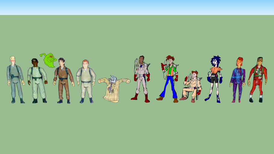 2D Ghostbusters