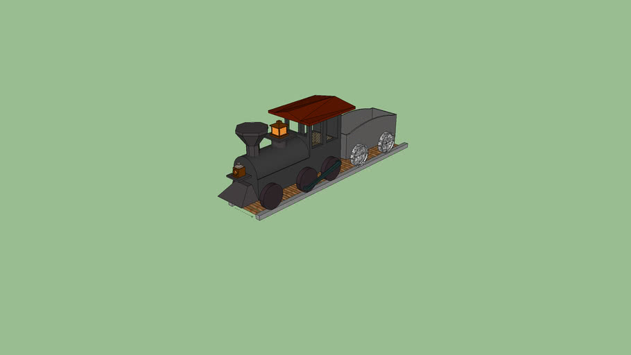Simple Old Train