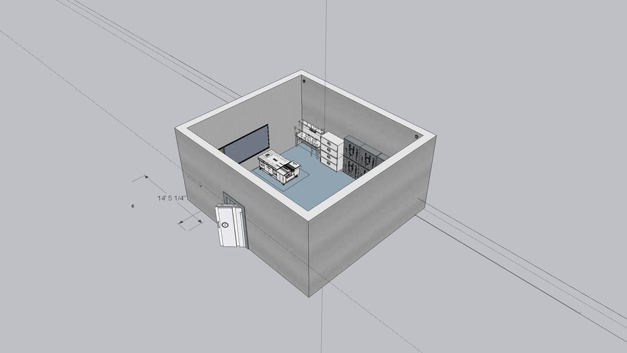 Arms Room with Vault Access