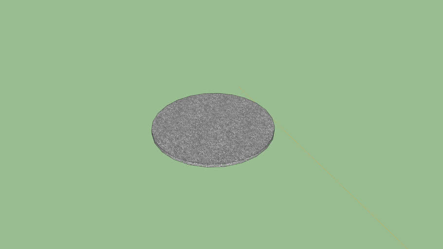 Alfombra D 70 Cm Small Round Carpet