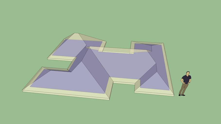 Asymmetric Complex Roof 3