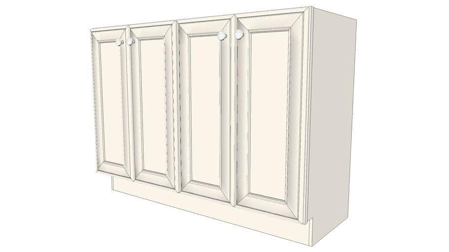 Vanity Cabinets - Harrington Maple Canvas Paint by KraftMaid® Cabinetry