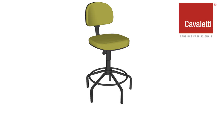 Cadeira Caixa sem Braço Start 4020 - Cavaletti