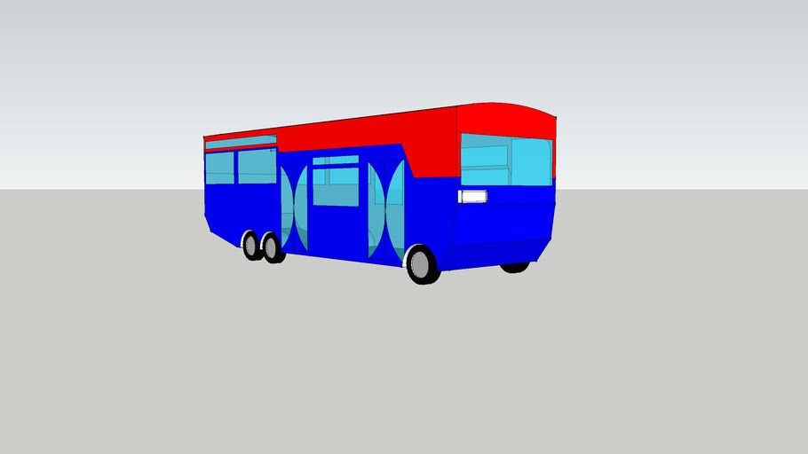 My first bus made a wile ago