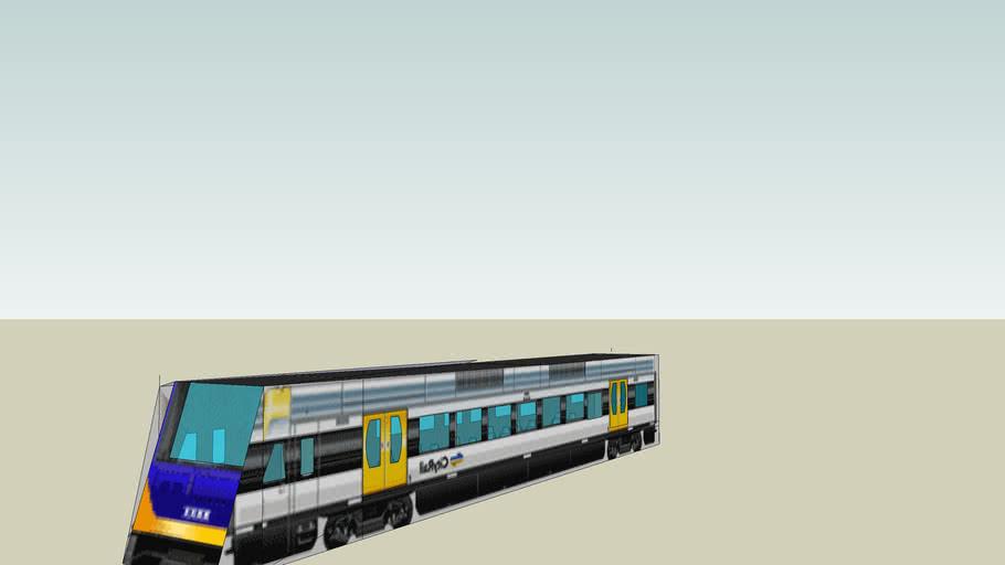 Hunter railcar control motor carriage
