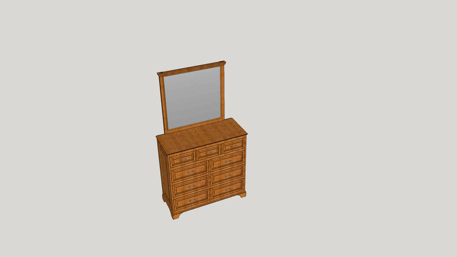 Wood Pride Chest of Drawers