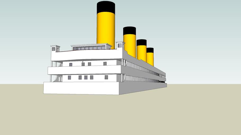cubierta del titanic