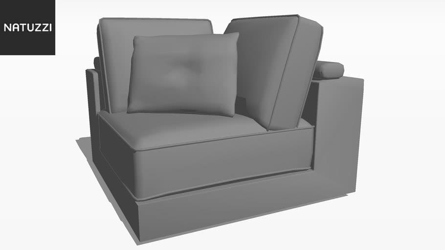 Sofa Domino 2226 011 | 3D Warehouse