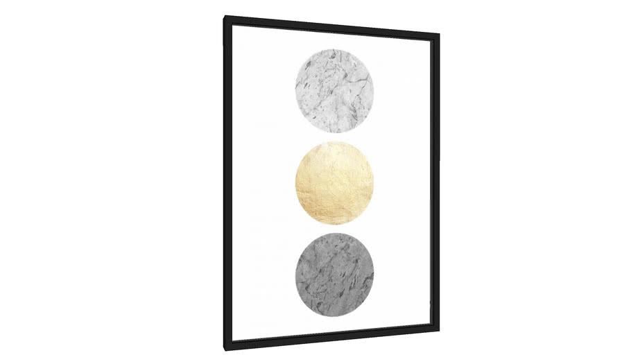 Quadro Texturas geométricas II - Galeria9, por Arte Natural