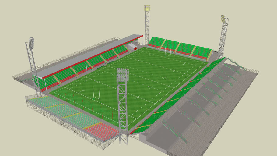 The Old Rugby Stadium