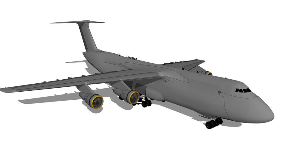 "Aircraft - Lockheed C-5 ""Galaxy"""