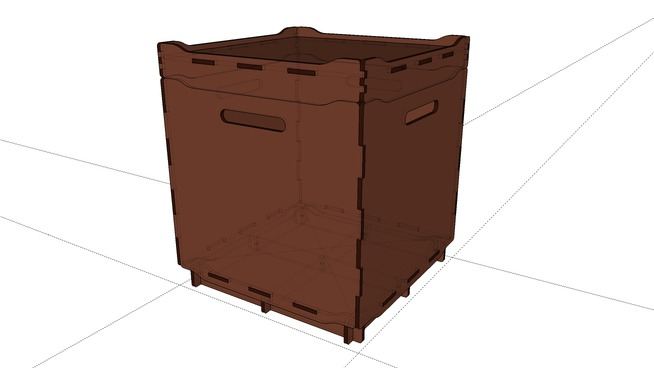 SSKS Cargo 3D full assembled