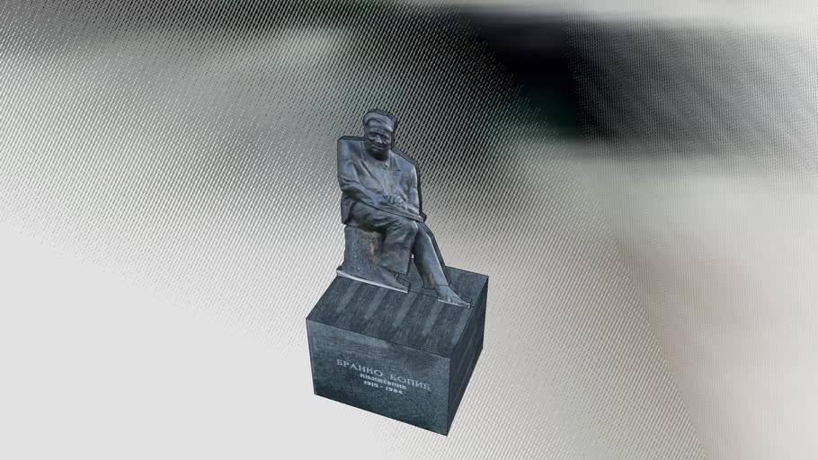 Споменик Бранку Ћопићу, Бања Лука