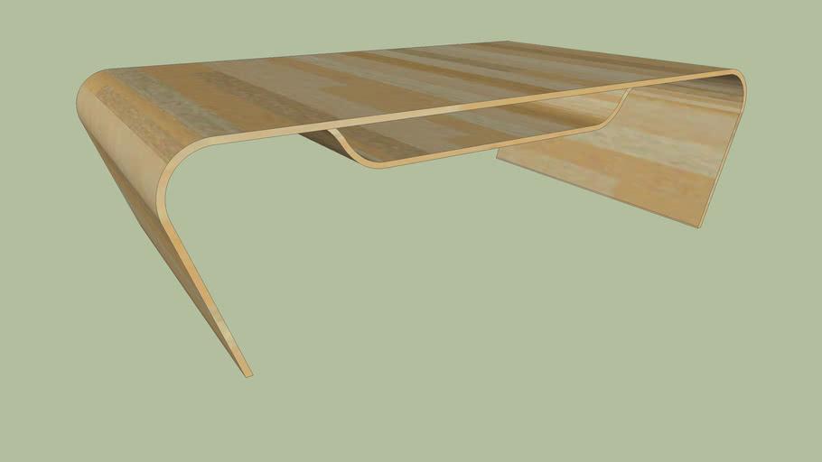 Laminated Wood Coffee Table