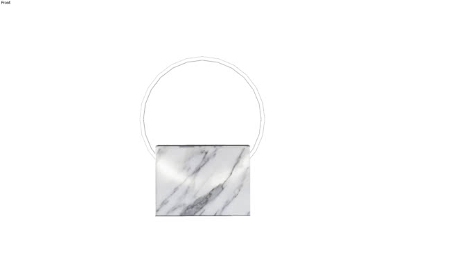 Sabine Marcelis Voie Small White Marble