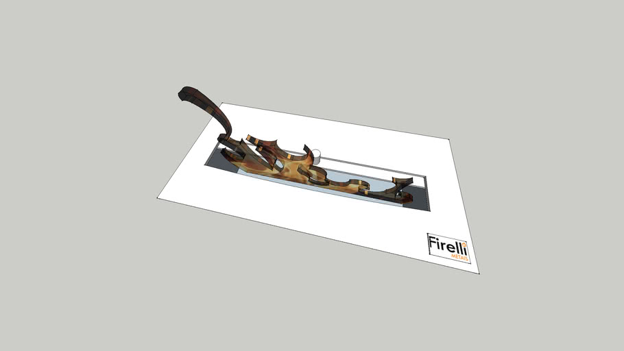 Queimador Ecológico Slim 30 - Firelli (Lareira Ecológica)