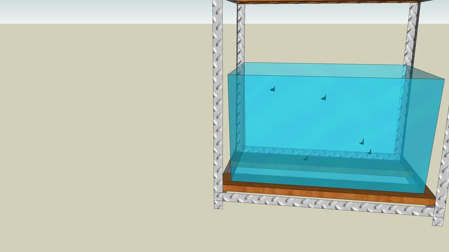 aquaponics stand