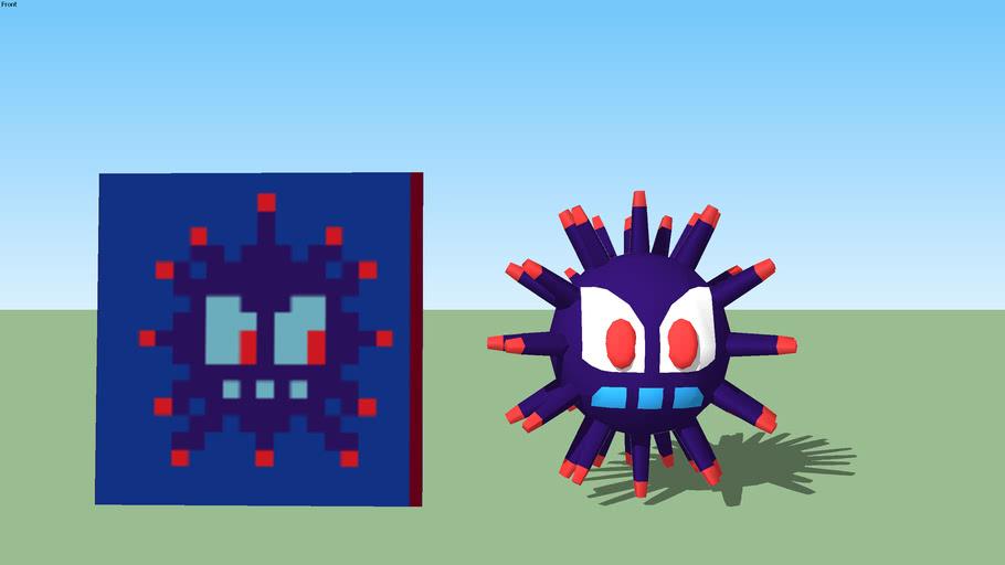 Spongebob LOTLS Enemy: Sea Urchin