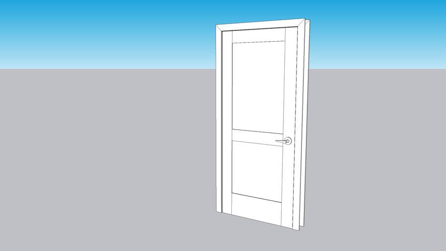 """34"""" x 80"""" interior door - shaker style"""