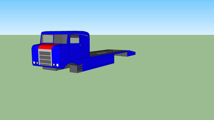 Kenworth Bullnose Car Transporter