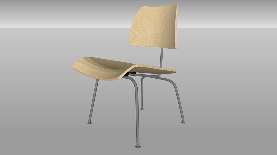 Herman Miller® Eames® Plywood Dining Chair, Metal Legs from Smart Furniture