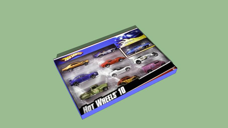Hot Wheels 10 Car Pack (HW Gift Pack)