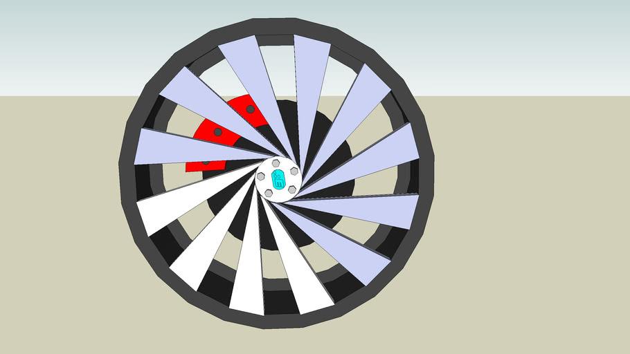 "18"" Wheel by Eric"