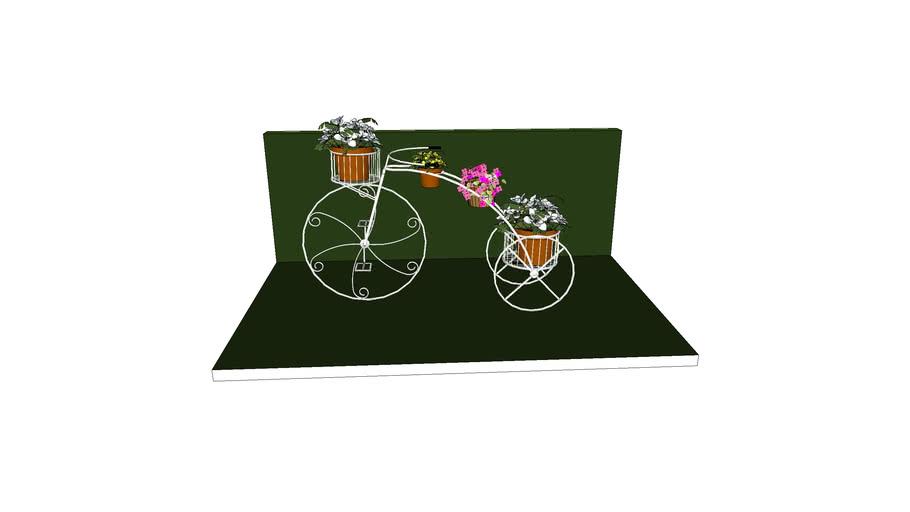 bicycle flowerpot